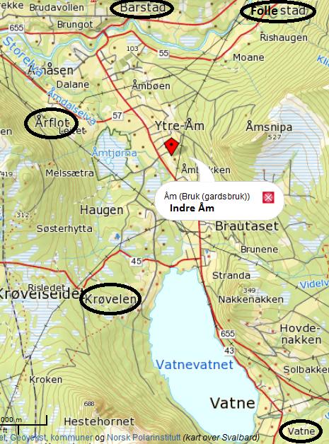 gårdsbruk kart Ny side 1 gårdsbruk kart